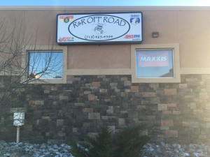 Refaced illuminated wall sign for R&R Offroad Colorado Springs