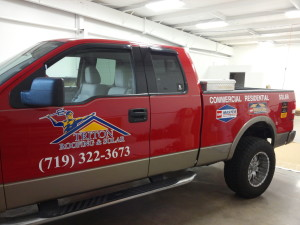 Triton Roofing & Solar Vehicle Graphics