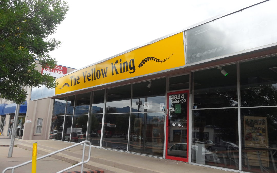 Illuminated Sign Graphics – Colorado Springs, CO – The Yellow King