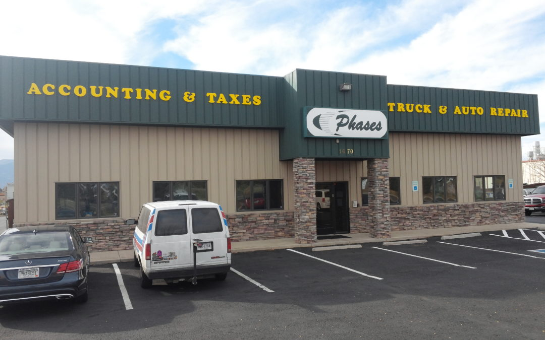 Dimensional Letters – Colorado Springs, CO – Phases Accounting and Auto Repair