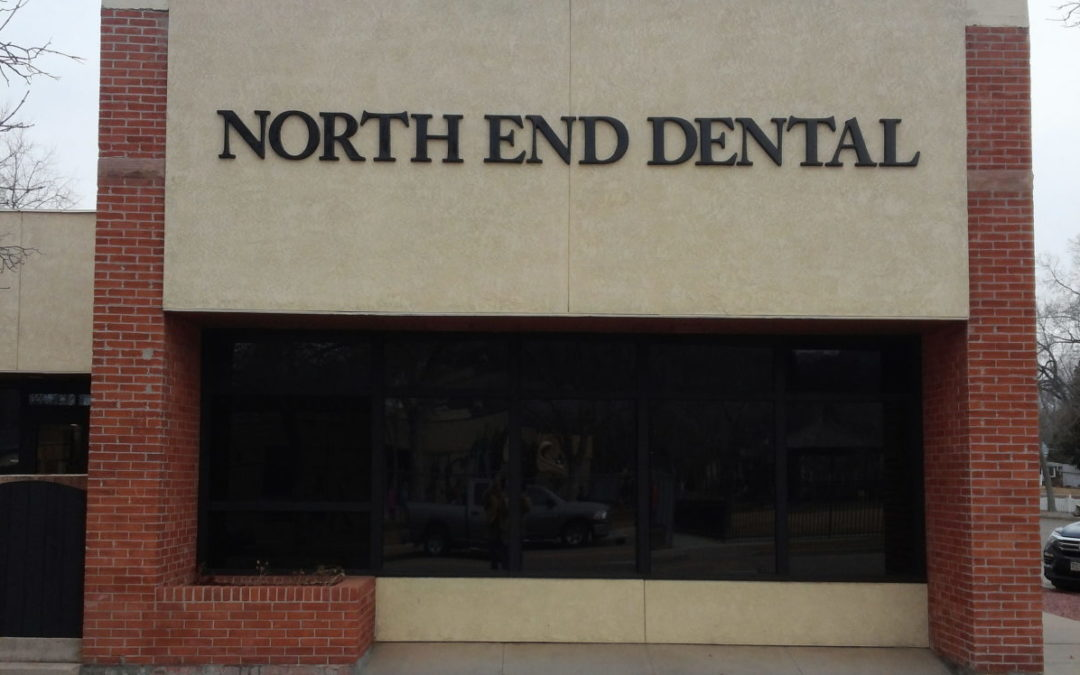 Dimensional Letters – Colorado Springs – North End Dental