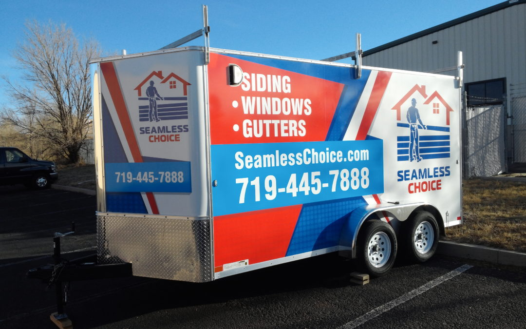 Custom Trailer Graphics – Colorado Springs – Seamless Choice