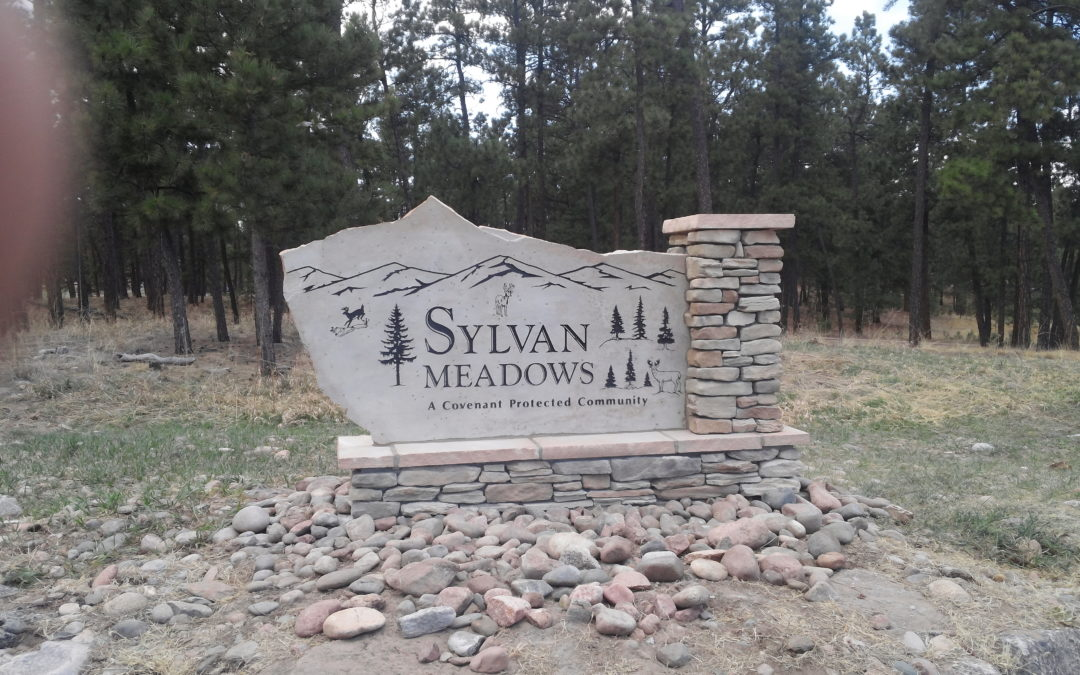 Monument Signs – Colorado Springs – Sylvan Meadows