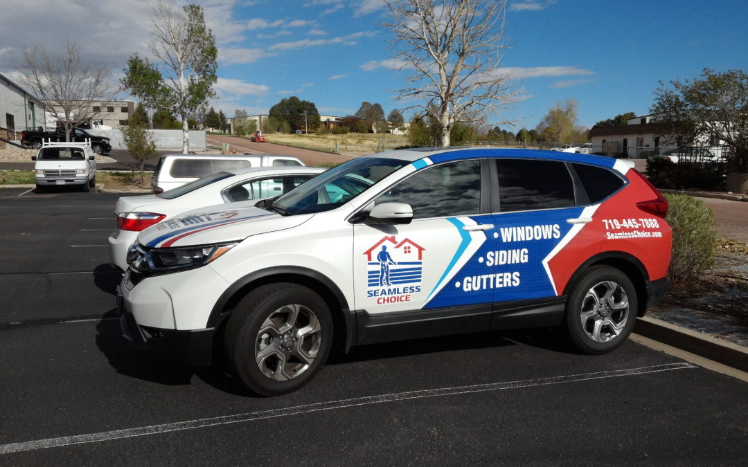 Custom Vehicle Wrap Colorado Springs Seamless Choice