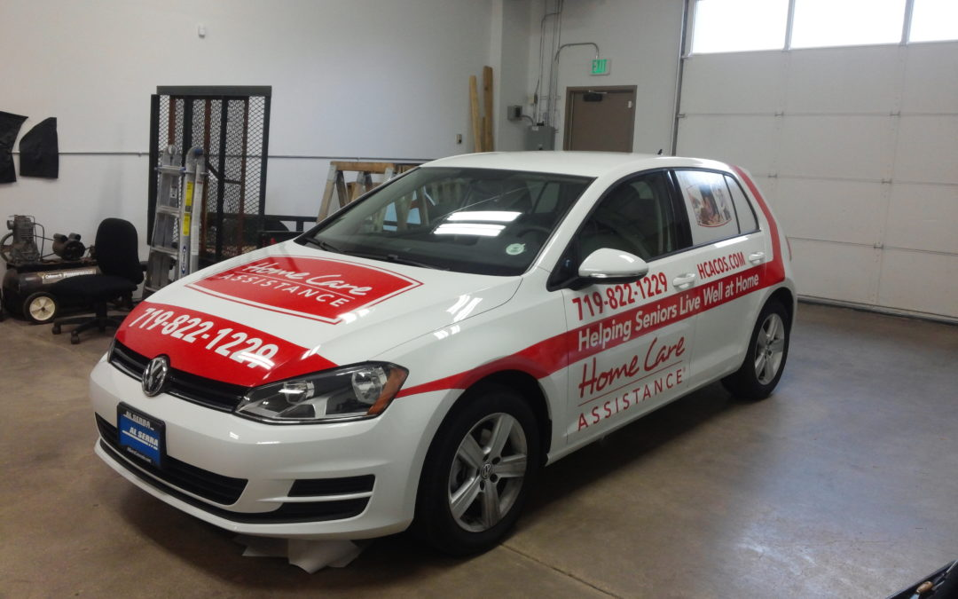 Custom Vehicle Graphics – Colorado Springs – Home Care Assistance