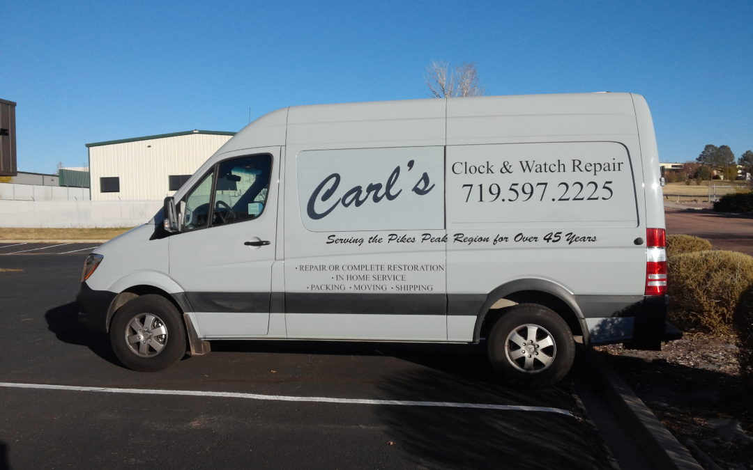 Van Graphics Colorado Springs Carl S Clock And Watch