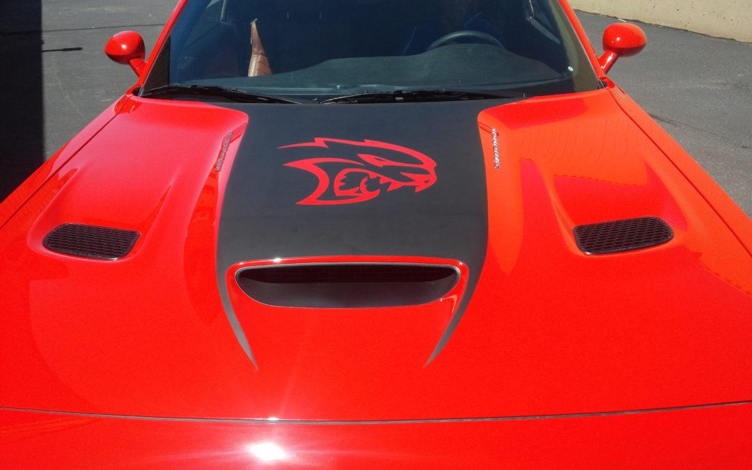 Custom Vehicle Graphics Colorado Springs Dodge Hellcat