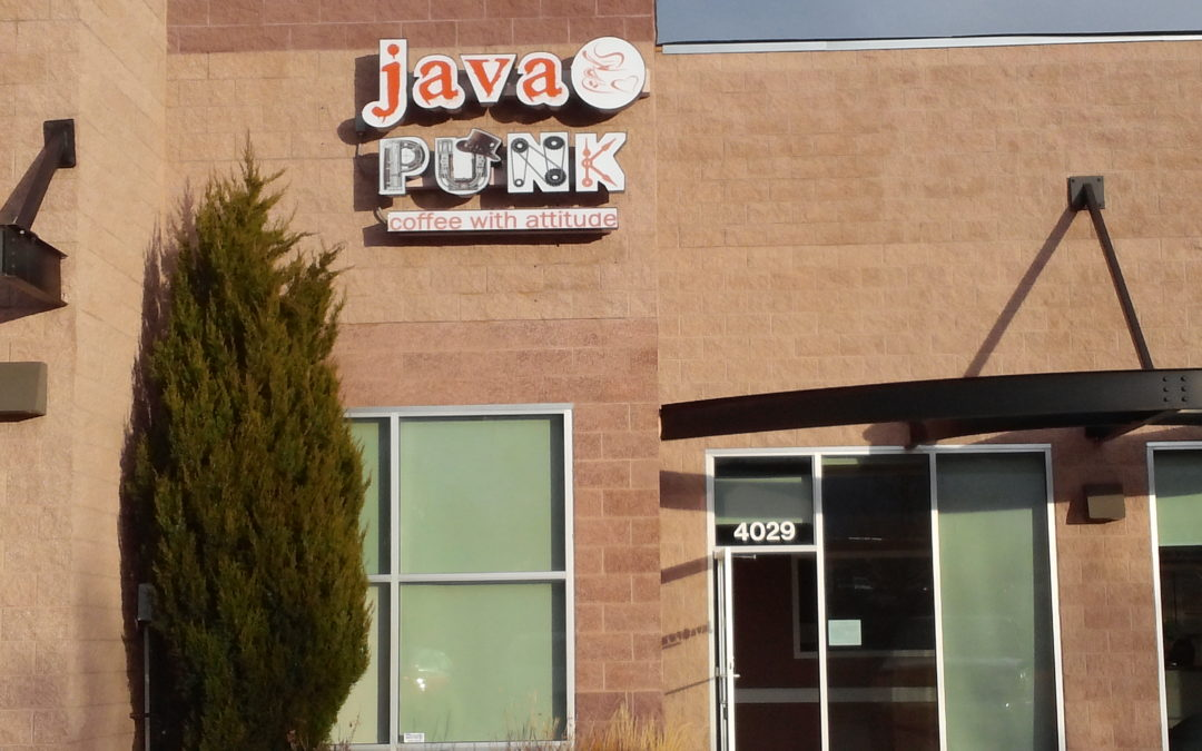 Channel Letter Sign Colorado Springs Java Punk Coffee
